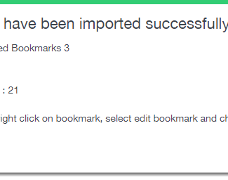 import Bookmark into mymark.me